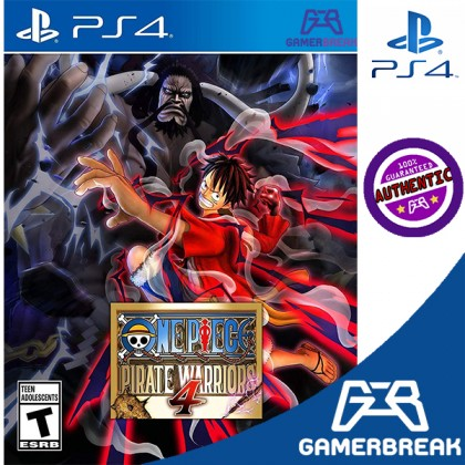 PS4 One Piece: Pirate Warriors 4(R3/Eng)