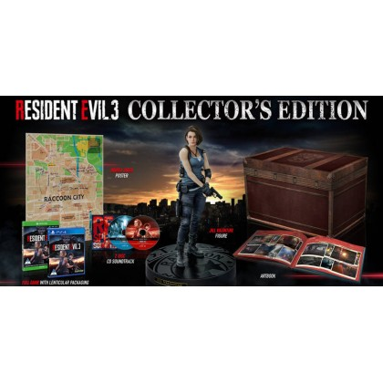 PS4 Resident Evil 3 RE3 Collector's Ediition (R3)