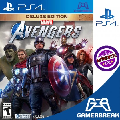 PS4 Marvel's Avengers Deluxe Edition (R3/ENG)