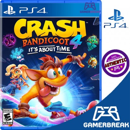 PS4 Crash Bandicoot 4: It's About Time (R3/Eng)